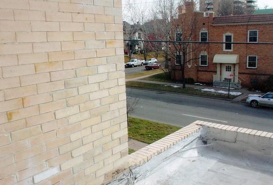Eroding brick due to water damage, brick replacement to fix after_shot_of_brick_work_2_jpg