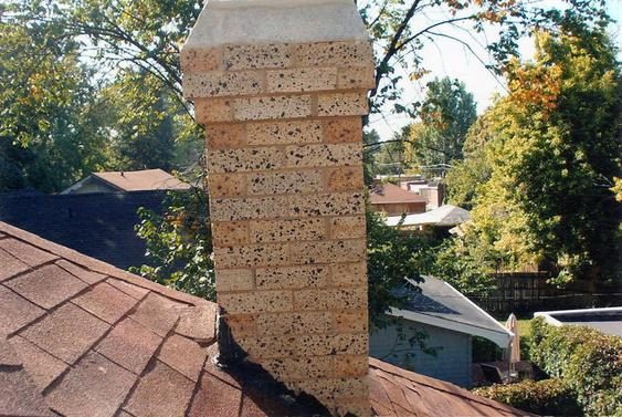 Grind Out All Mortar Joints, Tuck Point Chimney after_chimney_has_been_tuckpointed_11_jpg