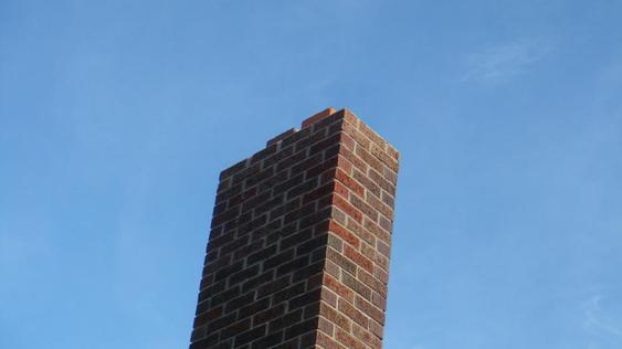 Grind Out And Tuck Point All Joints On Chimney after_dsc00148_jpg