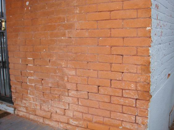 Grind Out and Tuck Point All Mortar Joints & Totally Restore Brick before_6_12_jpg