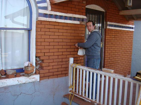 Grind Out and Tuck Point All Mortar Joints & Totally Restore Brick during_1_12_jpg