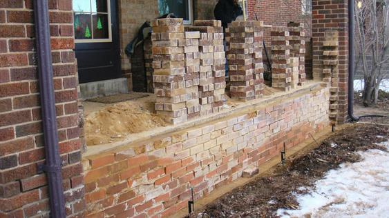 Rebuilding Bowed Out Front Porch Wall during_1_32_jpg