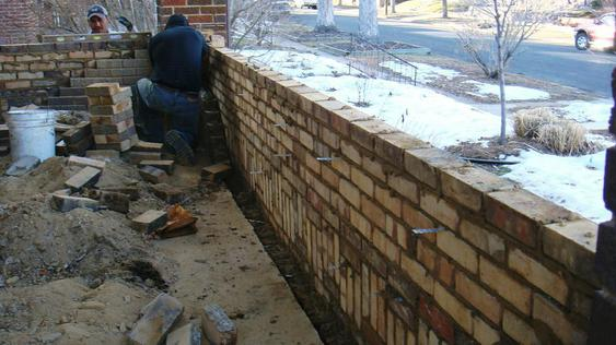Rebuilding Bowed Out Front Porch Wall during_3_32_jpg