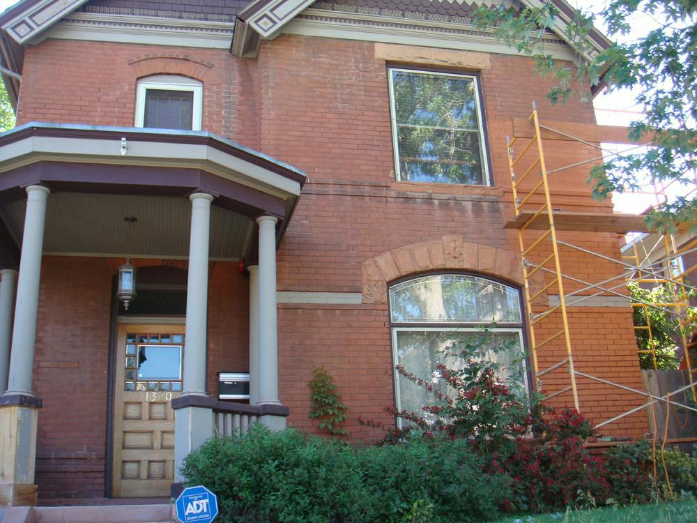 Brick Home Restoration : Total brick and stone restoration for a historical home in