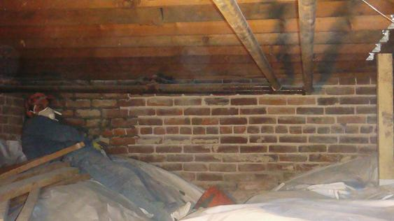 Tuck Point All Exterior Wall Joints Inside Crawlspace during_1_34_jpg