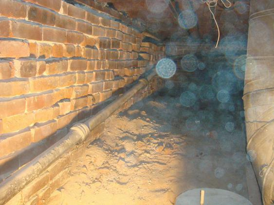 Tuckpoint All Joints on Foundation Wall in Crawlspace before_2_20_jpg