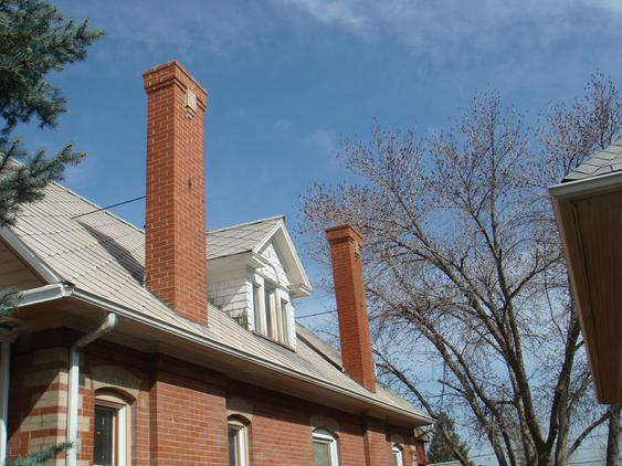 Tuckpoint All Joints On Both Chimneys and Rebuild Top 10 Courses after_1_16_jpg